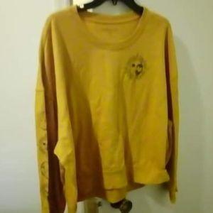 REBELLIOUS ONE juniors sweatshirt